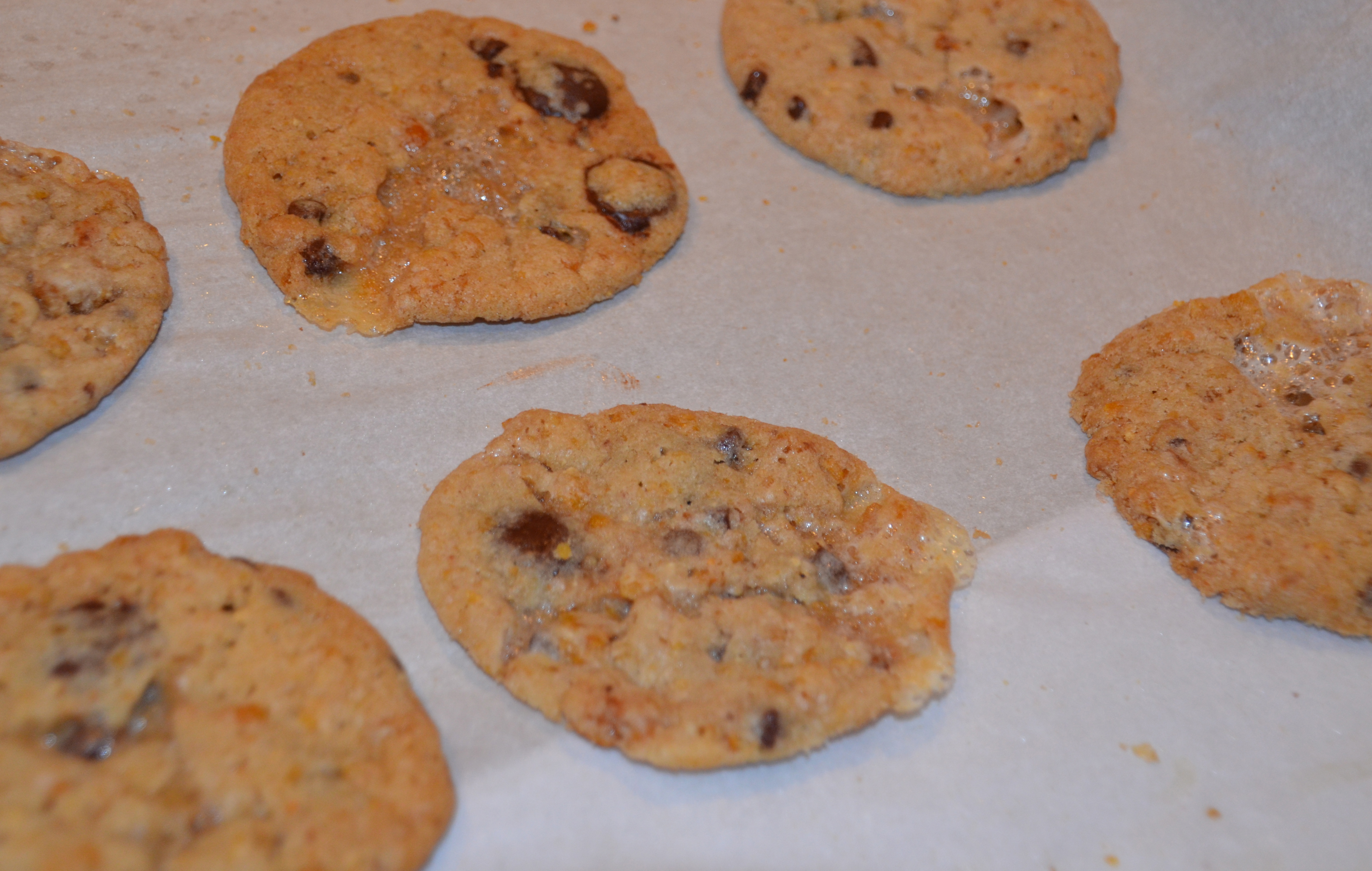 The cookies take a lot of prep time between making the cornflake ...